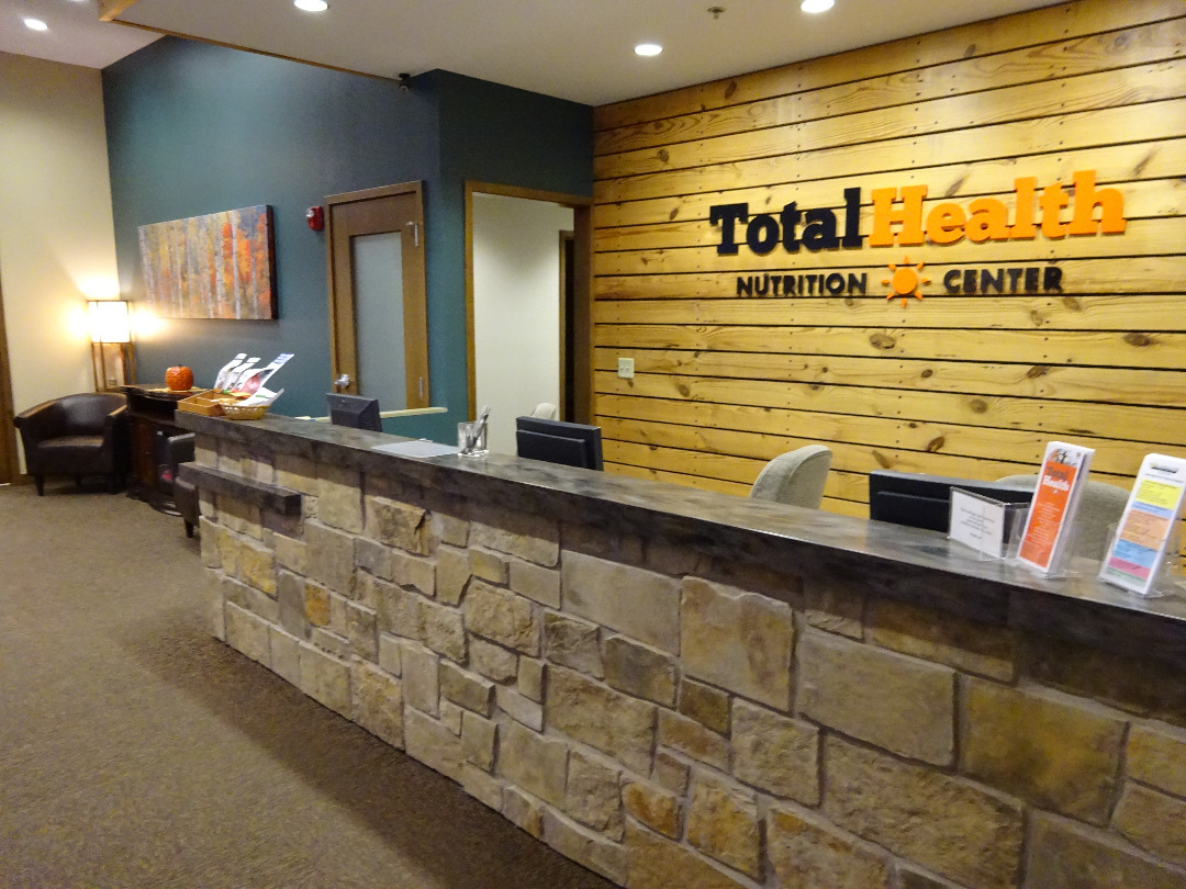 Clinic Reception Desk at Total Health Nutrition Center
