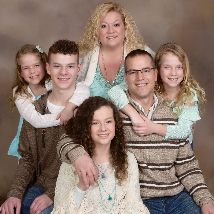 Dr. Christopher Severt and Family.