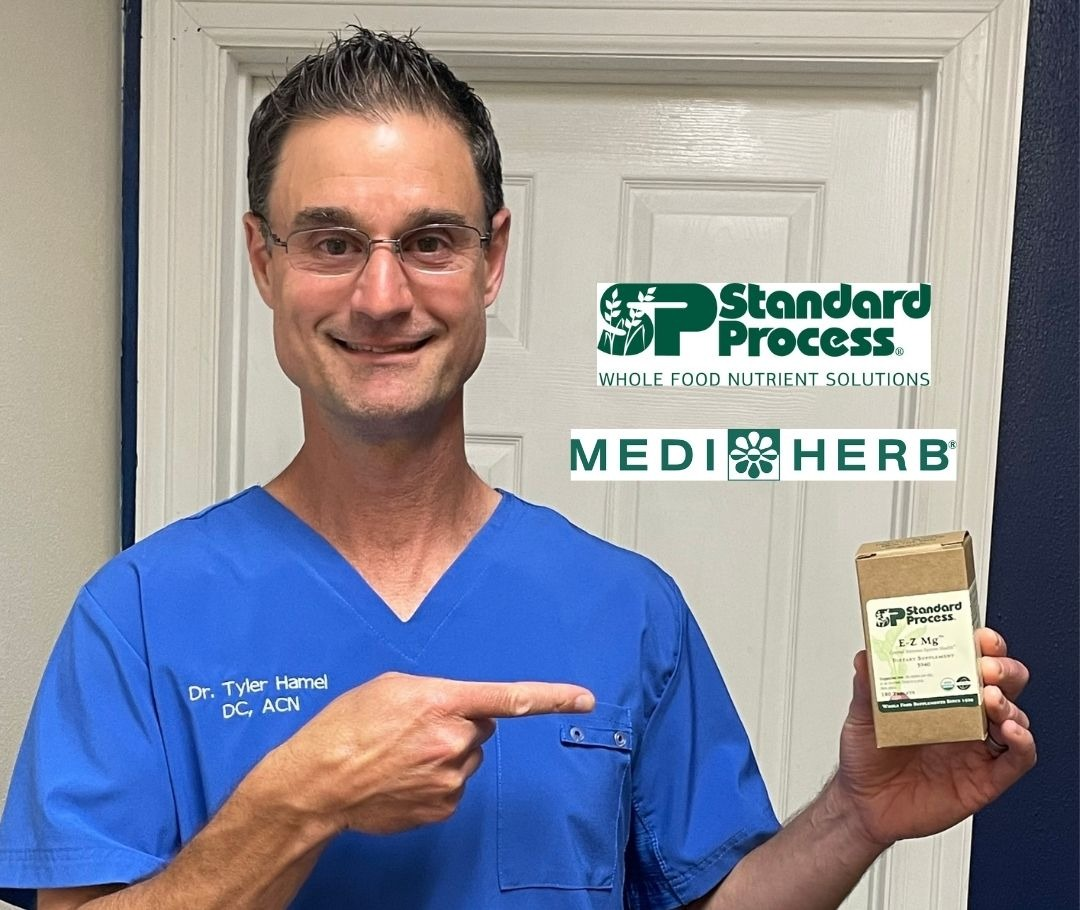 Kingwood chiropractor and nutritionist providing Standard Process and Medi Herb supplements