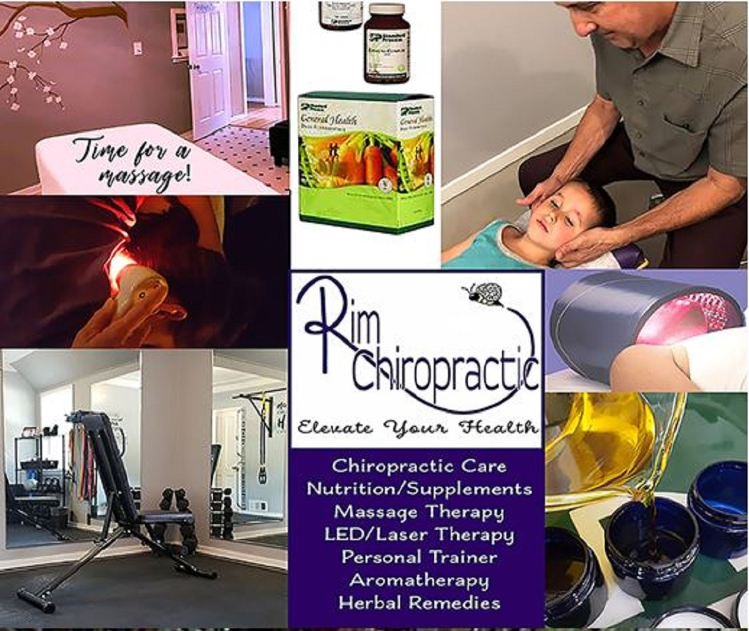 Rim Chiropractic collage
