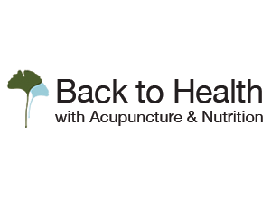 Back to Health with Acupuncture Logo