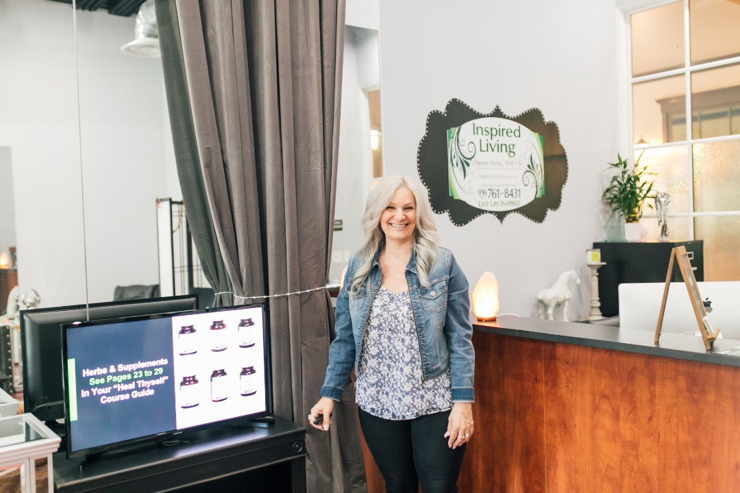 Dawna Weiss, founder of Inspired Living in Folsom, California